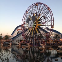 Photo taken at Mickey's Fun Wheel by Andrew on 4/20/2013