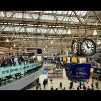 Photo taken at London Waterloo Railway Station (WAT) by Ree S. on 9/21/2012