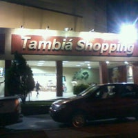 Photo taken at Tambiá Shopping by Charles G. on 10/21/2012