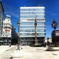 Photo taken at Obelisco by Gabriel M. on 9/15/2012