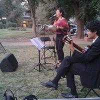 Photo taken at Plaza Eusebio Lillo by Fran P. on 1/5/2013