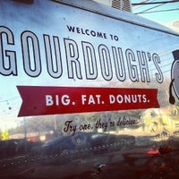 Photo taken at Gourdough's by Mark S. on 11/4/2012