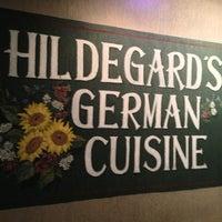 Photo taken at Hildegard's German Cuisine by Stu L. on 3/7/2013