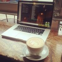 Photo taken at Espresso Vivace by Karen C. on 1/19/2013