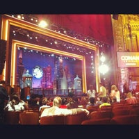 Photo taken at CONAN Chicago @ Chicago Theater by Sara M. on 6/14/2012
