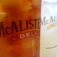 Photo taken at McAlister's Deli by Fred G. on 7/13/2012