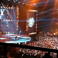 Photo taken at Bridgestone Arena by Ken R. on 12/6/2012
