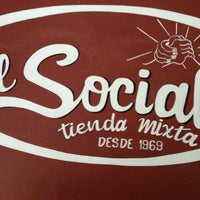 Photo taken at El Social by Santiago A. on 2/5/2013