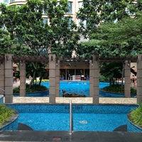 Photo taken at Pool · The Westin Kuala Lumpur 吉隆坡威斯汀酒店 by Maitha E. on 12/24/2012