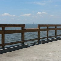 Photo taken at St. Simons Island Pier by Jennifer C. on 5/17/2013