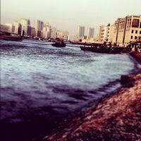 Photo taken at Dubai Creek by Navin K. on 10/17/2012