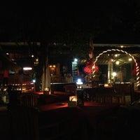 Photo taken at Trawangan Beach Cottages Bar & Restaurant by Diman C. on 8/25/2013