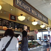 Photo taken at Noah's Bagels by Robert A. on 12/10/2012
