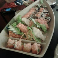 Photo taken at Oishii Sushi by Junior A. on 10/31/2012