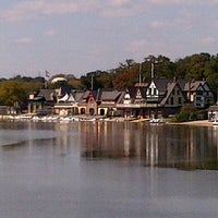 Photo taken at Boathouse Row by Paul V. on 9/21/2012