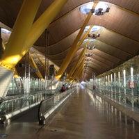 Photo taken at Terminal 4 Satélite by Ivan L. on 6/23/2013