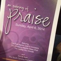 Photo taken at First Baptist Church by Wesley D. on 4/6/2014