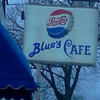 Photo taken at Blue's cafe by Darlene D. on 9/28/2013