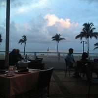 Photo taken at Shula's on the Beach by Kimi M. on 7/12/2013