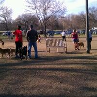 Photo taken at White Rock Lake Dog Park by Joseph P. on 3/14/2013