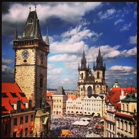 Photo taken at Prague Astronomical Clock by Ally R. on 5/18/2013