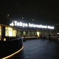 Photo taken at Tokyo (Haneda) International Airport (HND) by Manabu I. on 6/29/2013