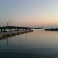 Photo taken at Glyfada by Christina P. on 4/29/2013