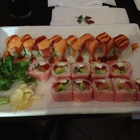 Photo taken at Kyoto Sushi by Maria K. on 5/4/2013