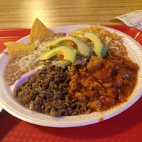 Photo taken at Pineda Tacos by Adam G. on 2/22/2013
