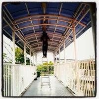 Photo taken at Halte TransJakarta Ancol by Triyanto B. on 7/14/2013