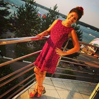 Photo taken at AZIMUT Hotel Novyi Bereg by Екатерина Г. on 8/10/2014