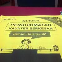 Photo taken at Pejabat Pendaftaran UTHM by jeeha f. on 4/12/2016