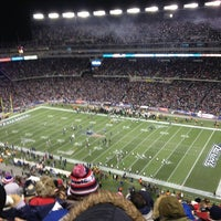 Photo taken at Gillette Stadium by Jeremy D. on 1/20/2013