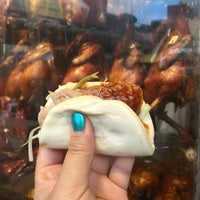 Photo taken at Peking Duck Sandwich Stall by CarbZombie J. on 5/7/2016