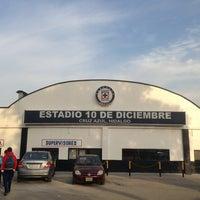 Photo taken at Estadio 10 de Diciembre by Sergio M. on 1/20/2013