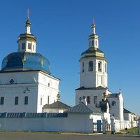 Photo taken at Свято-Знаменский Абалакский монастырь by Dmitry K. on 8/13/2013