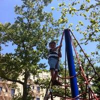 Photo taken at John Jay Playground by Victoria G. on 5/31/2012