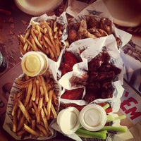 Photo taken at Wingstop by Michael I. on 9/23/2012