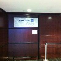 Photo taken at United Club - Terminal E by Gary B. on 2/11/2013