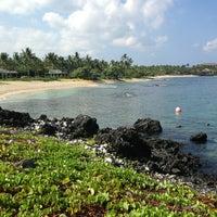 Photo taken at Kukio Beach @ Four Seasons by Coco J. G. on 8/26/2013