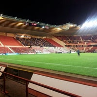 Photo taken at Riverside Stadium by Mark G. on 11/27/2012