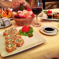 "Photo taken at Ресторан ""Чопстикс"" / Chopsticks Restaurant by Ksenia Y. on 7/17/2013"
