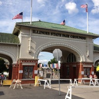 Photo taken at Illinois State Fairgrounds by Brittney L. on 8/15/2013
