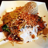 Photo taken at Hot Iron Mongolian Grill by Scott H. on 5/9/2014