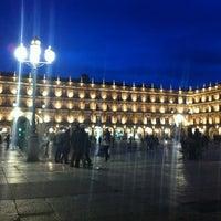 Photo taken at Plaza Mayor by Javier R. on 11/16/2012