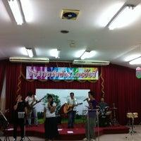 Photo taken at Hope Bangkok Church by JajaaToffees L. on 10/23/2013