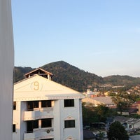 Photo taken at Patong Voyage Place Hotel by Alex O. on 2/10/2013