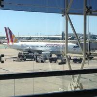 Photo taken at Terminal 2B by Marwin Zumkeller on 4/13/2013