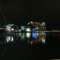 Photo taken at Inner Harbor by Chris B. on 2/28/2013