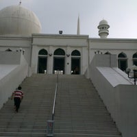 Photo taken at Masjid Agung Al-Azhar by Ibnu N. on 12/6/2012